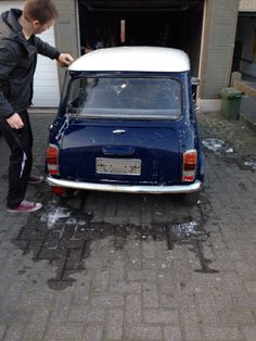 first day with or mini, ready to begin! #love #mini classic