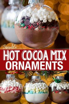 DIY Hot Cocoa Mix Ornaments are an easy DIY gift idea for the holidays. - DIY Hot Cocoa Mix Ornaments are an easy DIY gift idea for the holidays. DIY Hot Cocoa Mix Ornaments are an easy DIY gift idea for the holi. Diy Gifts Cheap, Easy Diy Gifts, Handmade Gifts, Handmade Headbands, Handmade Rugs, Diy Christmas Gifts For Family, Family Gifts, Christmas Christmas, Diy Gift Ideas For Christmas