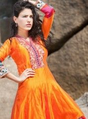 Designer  salwar kameez in beautiful print with salwars. Its surely a must buy for hot summer.