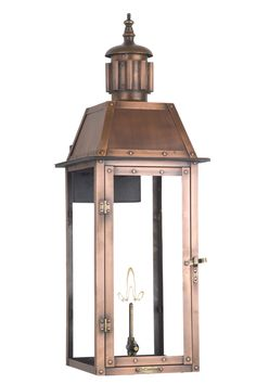 Oakley - Copper Lighting - The CopperSmith - Gas and Electric Lighting