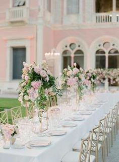 Lovers of All Things Pink & Floral Need to See This Stunning Villa Wedding in France! Lovers of All Things Pink & Floral Need to See This Stunning Villa Wedding in France! Southern Wedding Invitations, Affordable Wedding Invitations, Pastel Wedding Colors, Floral Wedding, Wedding Flower Decorations, Wedding Ideas, Wedding Centerpieces, Wedding Stuff, Wedding Planning
