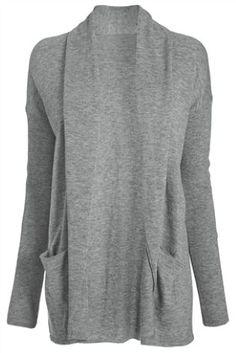 Next grey longline cardigan