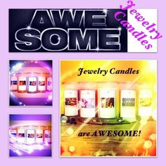 Jewelry Candles are 100% natural soy and they use premium quality fragrances so they all smell great! The candles are a huge 21 oz and have a burn time of anywhere from 110 hours to 150 hours so you will get a lot of bang and fragrance for your buck! All of the candles are hand poured with love in Louisville, Kentucky!