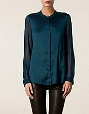 DKNY Dana silk blouse