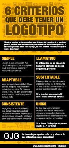 6criteriosquedebetenerunbuenlogotipo - Blog Diseño Grafico: