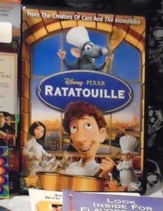 Disney/Pixar: Ratatouille [2007, DVD] Free Shipping