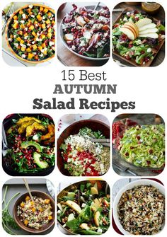 15 Best Autumn Salad Recipes