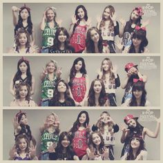 Snsd vintage style  GG's tiny times
