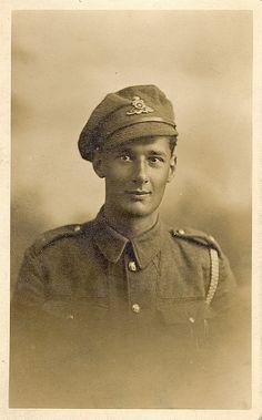 WWI Gunner Francis Edward Alban Eldridge of the Royal Field Artillery | Flickr - Photo Sharing!