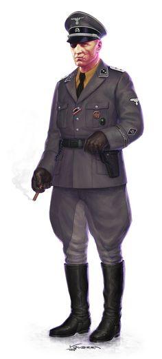 Sicherheitsdienst SD ~ Walküre, el juego de rol