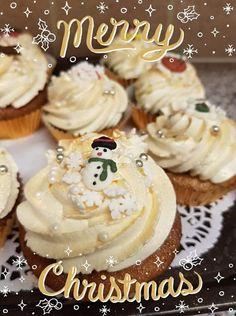 Μελομακάρονα με μπύρα Cupcakes, Desserts, Christmas, Food, Tailgate Desserts, Xmas, Cupcake Cakes, Deserts, Essen
