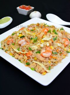 Mauritian Chicken Fried Rice