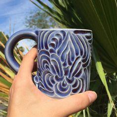 Handcarved mug