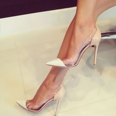 Gianvito Rossi Plexi PVC Illusion