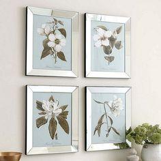 Alabaster Bloom Art | Ballard Designs