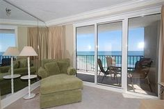 Beachside Two 4351 2BR 2BA plus 2 balcony's.  Look at that view and you can enjoy that view everyday when you choose this vacation rental that is located in the Sandestin Golf and Beach Resort in the Beachside Two towers.