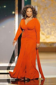 TV personality Oprah Winfrey on stage at the 60th Primetime Emmy Awards held at the NOKIA Theatre on Septmeber 21, 2008 in Los Angeles, California.