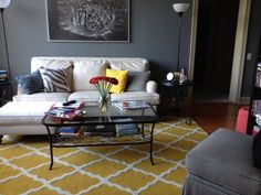 Buckhead Betty ... on a Budget: Living Room Decor Complete