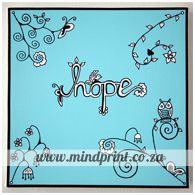 hope Canvas Prints, Store, Heart, Design, Home Decor, Decoration Home, Photo Canvas Prints, Room Decor, Storage