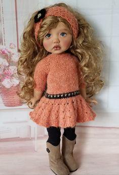 Vintage Dolls, Doll Clothes, Crochet Hats, My Favorite Things, Handmade, Fashion, Hipster Stuff, Knitting Hats, Moda