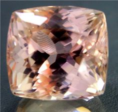 43 cts FLAWLESS Peach Color Natural Kunzite Gemstone