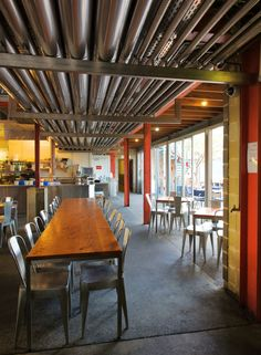 Little Creatures Brewery is a production brewery and multi facetted hospitality venue located alongside the commercial \'Fishing Boat Harbour\' in Fremantle, Western Australia.