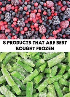 Frozen fruits and vegetables have proven to be as full of vitamins as the fresh ones. Find out 8 Products That Are Best Bought Frozen!
