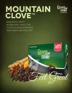 Mountain Clove: Native to Indonesia and other south Asian countries - produces a uniquely warm, sweet-ish flavor and has been used in cuisines worldwide. Electronic Cigarette, Sweet, Blog, Winter, Kitchens, Candy, Winter Time, Vaping Mods, Vape