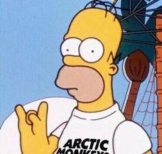 Simpsons. Arctic Monkeys