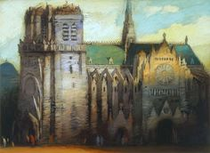 """Cathedral"" - Limited Editions - All Artwork - Richard Bunkall - Tara Drew Gallery | Fine Art World"