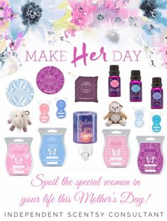 Who wouldn't want Scentsy for Mother's Day?! I know I would   www.andreaswango.scentsy.us