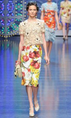 Tendência 2012 - Crochê e macramê são destaques na moda internacional - Fashion Bubbles — Fashion Bubbles