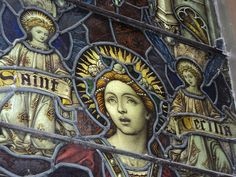 Saint Cecilia Stained Glass  #Limelightshops
