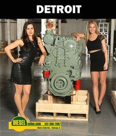 Trucking | Detroit Diesel | Pinterest