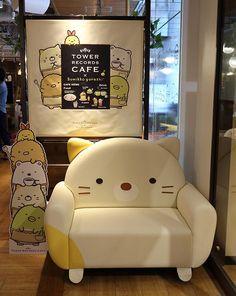 Tower Records Cafe x Sumikko Gurashi