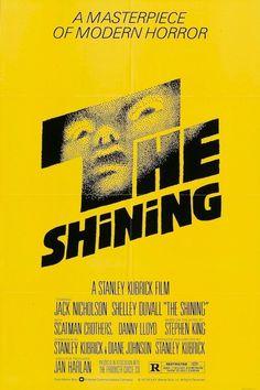 The Shining-Stanley Kubrick-Jack Nicholson-Shelly Duvall-Stephen Jack Nicholson, Stanley Kubrick, Saul Bass Posters, The Shining Poster, Trick Or Treat Studios, Horror, Stephen King, Plakat Design, Original Movie Posters