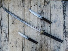 Oriental-inspired blades from Cold Steel Doomsday Survival, Survival Gear, Survival Stuff, Cool Guns, Awesome Guns, Ninja Weapons, Spring Steel, Tumblr, Cold Steel