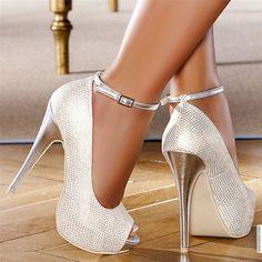 Escarpins femme Blanc taille 39, achat en ligne Escarpins femme sur MODATOI