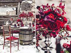Dicen que este fin de semana llega el frío, por si acaso nosotros empezamos ya con ideas para bodas de invierno! http://www.unabodaoriginal.es/blog/donde-como-y-cuando/decoracion/decoracion-de-boda