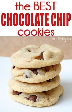 Super Soft Chocolate Chip Cookies with extra successful tips @ recipe blog