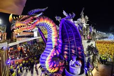 34 Dazzling Pictures From This Year's Rio De Janeiro Carnival