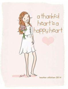 Thankful Heart- Happy Heart <3