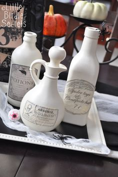 I've been working on spookifying my house for Halloween, and my favorite look has to be the vintage Halloween style. It's…