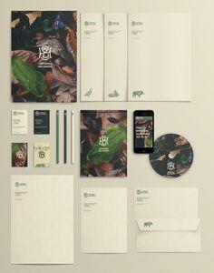 Unique Branding Design, Herdades São Barão via @intheteapot #Branding #Identity #Design