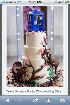 Dr who wedding | http://specialweddingcakeideas.blogspot.com
