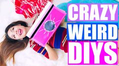 Crazy & Weird DIYS You NEED to Try! | Pinterest DIYS Tested! Glow in the...