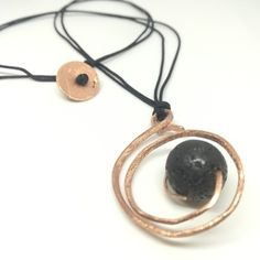 Lava, Washer Necklace, How To Make, Jewelry, Jewlery, Bijoux, Jewerly, Jewelery, Jewels