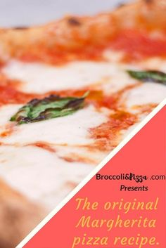 The original Margherita pizza recipe. Pizza And More, How To Make Pizza, Broccoli Pizza, Best Homemade Pizza, Plum Tomatoes, Pizza Recipes, The Originals, Cooking