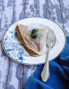 Esta es la receta que estabas esperando, Panqueques Sin Gluten que quedan como los tradicionales!!! Bien elásticos, no se resquebrajan. Chocolate Sin Gluten, Profiteroles, Gluten Free, Pastel, Breakfast, Ethnic Recipes, Food, Almond Butter, Pancakes