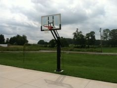 This Pro Dunk Silver Basketball System is fun to play outdoor when the weather is beautiful.